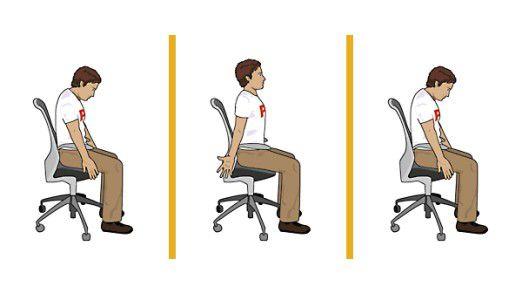 Übung für den Schultergürtel und die Brustwirbelsäule.