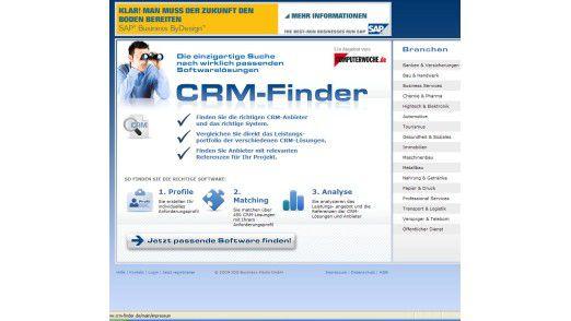 Neu: Der CRM-Finder.