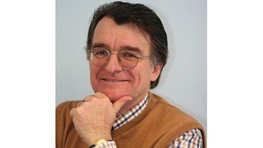 Im Gespräch mit CIO: Professor Cichon von der Hochschule München.