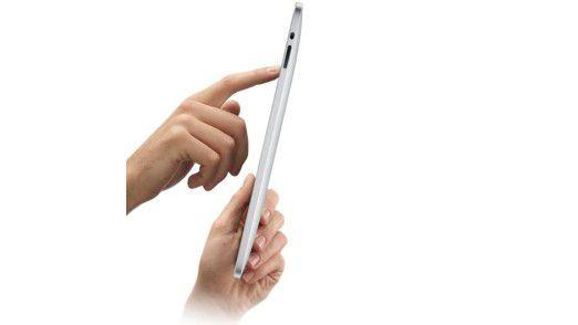 Der gemeine iPad user: Eitel und selbstsüchtig als der Rest der Welt.
