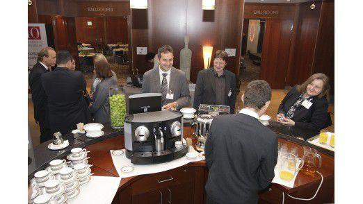Kurz vor der Konferenz zum IT Excellence Benchmark 2009.