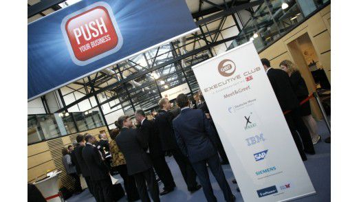 CeBIT Executive Club 2010 in Hannover.
