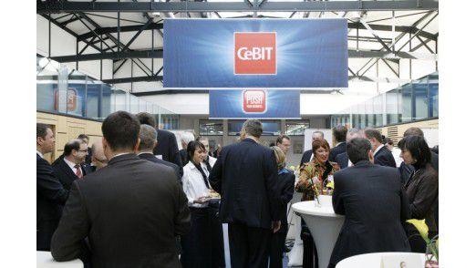 Der Cebit Executive Club auf der Cebit 2010.