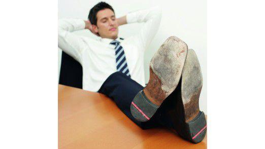 16 Prozent der Angestellten kommen laut Careerbuilder mindestens einmal pro Woche zu spät ins Büro.