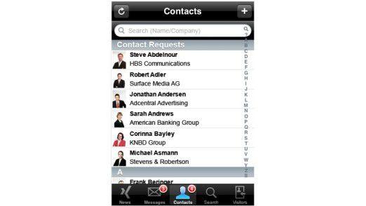 Immer häufiger im Unternehmen anzutreffen: Das iPhone von Apple. Um die Sicherheit kümmert sich aber kaum jemand.