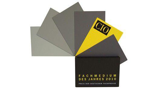 """Der Pokal """"Fachmedium des Jahres 2010"""""""