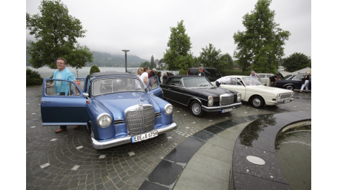 Oldtimer-Rallye des CIO Executive Forums - Foto: Joachim Wendler