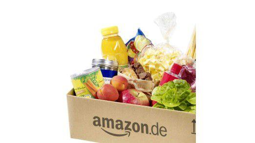 Amazon steigt in den Lebensmittelversand ein. Doch die Lebensmittelkiste kommt nur per Postbote oder per Packstation.
