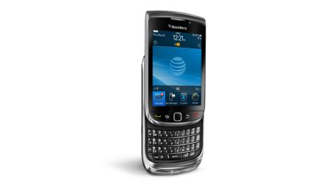 Der Blackberry Torch 9800 - Foto: AT&T, RIM