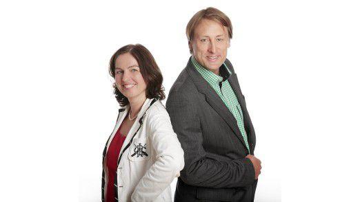 Svenja Hofert und Thorsten Visbal.