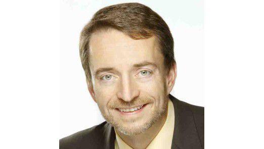 """Pat Gelsinger, COO von EMC, sieht sein Unternehmen auf dem Weg zur """"richtigen"""" Wolke: der Virtual Cloud. (Foto: EMC)"""