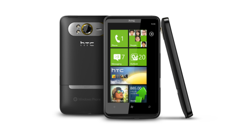Smartphones mit Windows Phone 7 - Foto: HTC