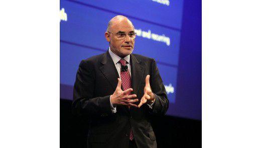 Verkündet nicht zum ersten Mal strategische Visionen: HP-Chef Léo Apotheker.