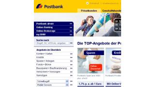 Beste Banken-Website: Postbank vor ING DiBa und Deutscher Bank