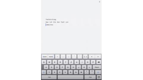 Produktivitäts-Apps fürs iPad