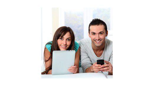 Ob Freizeit oder Beruf: Der Tablet-PC ist ständig im Spiel.