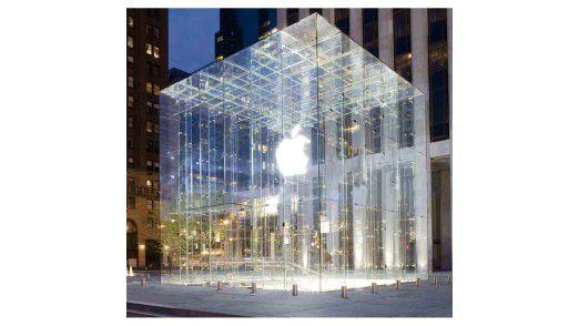Bei so viel Glamour kann der Erfolg nicht ausbleiben: Flaggschiff-Store von Apple in New York. Der Konzern erobert auch die Branche der Life Sciences.