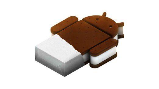 Zumindest das Logo von Android Ice Cream Sandwich ist schon bekannt.