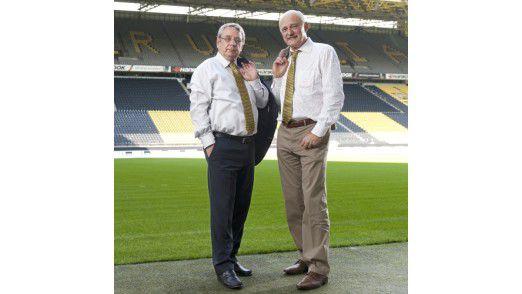Sowohl Olaf Röper (links) als auch Joachim Badde überschreiten die durchschnittliche Amtszeit von CIOs um 20 Jahre.