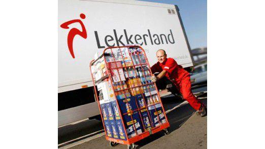 Ein Lekkerland-Convenience-Großhändler.