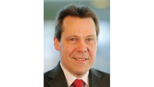 Klaus-Peter Bruns, Vorstandschef der Fiducia, beobachtet ein steigendes Interesse an Mobile Payment und Cardless Cash.