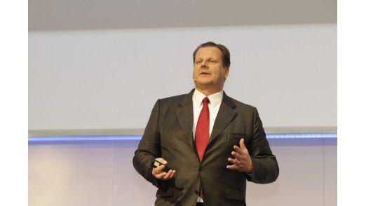 SAP-CIO Oliver Bussmann auf den Hamburger IT-Strategietagen 2012.