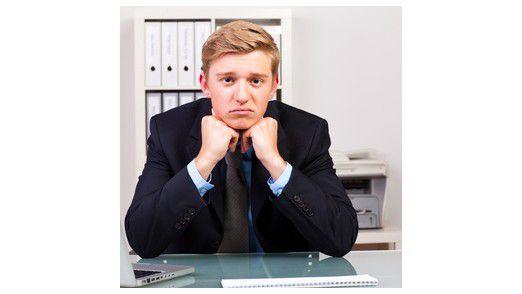 Frustrierte Mitarbeiter sind häufiger krank.