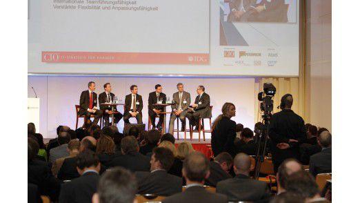 Podiumsdiskussion zum Thema auf den Hamburger Strategietagen 2012.