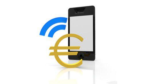 Auf dem Vormarsch: Bezahlen mit Smartphone-Unterstützung.