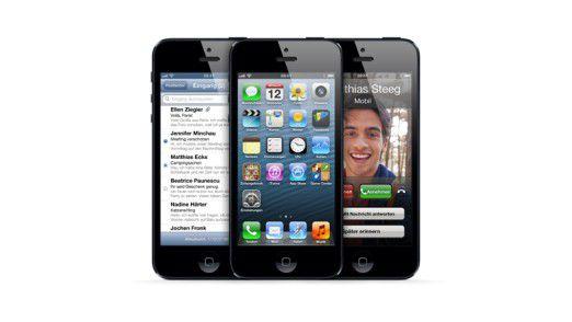 Das iPhone 5, die aktuellste Version des Apple-Smartphones.