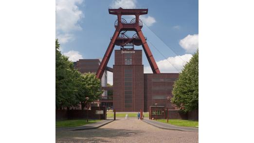 """Auf dem Zollverein-Gelände findet im Vorfeld des Gipfels der """"Young-IT Day"""" statt."""