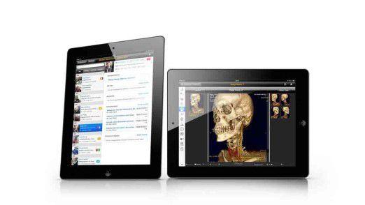 Die schöne neue Welt der iPads und anderer mobiler Geräte ermöglicht den Ärzten tiefe Einblicke bei der Visite.