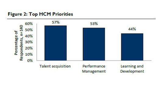 Die meisten Firmen wollen sich 2013 insbesondere auf die Anwerbung neuer Talente fokussieren.