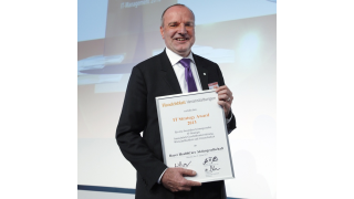 Beste IT-Strategie: Bayer Healthcare CIO gewinnt IT Strategy Award - Foto: Euroforum/C. Meyer
