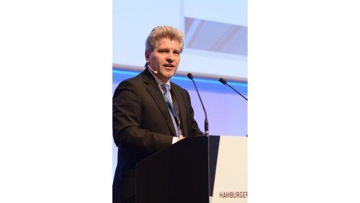 """Klaus Neumann, Leiter des Bereichs Informationstechnologie bei der KfW Bankengruppe: """"Digital Natives können mit den sperrigen Produkten, die Banken mitunter anbieten, nichts anfangen."""""""
