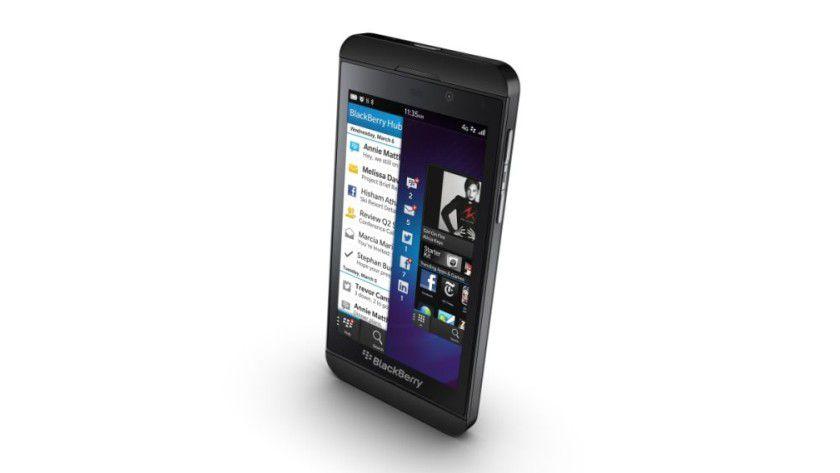 Der BlackBerry Z10.