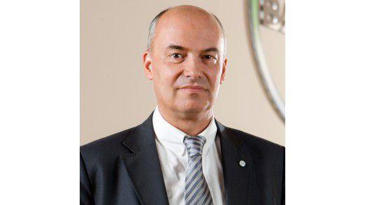 """Daniel Hartert CEO der Bayer Business Services: """"Wir haben Abstand davon genommen, eine generelle Formel für den Wertbeitrag der IT anzusetzen."""""""
