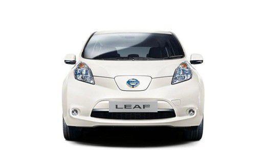Ein autonomes Automobil: Der Nissan Leaf.