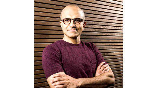 Satya Nadella ist CEO von Microsoft.