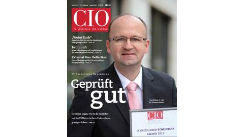 Blick ins CIO-Magazin April 2014 - Foto: cio.de