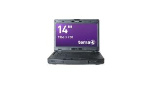 Wortmann Terra Mobile 1431: Notebook federt Stöße und Stürze ab - Foto: Wortmann AG