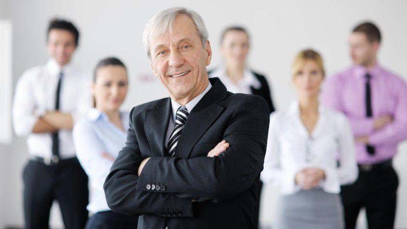 Senior-Projektmanager werden fast überall gesucht.