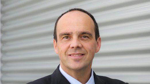 Hagen Rickmann, derzeit noch Vertriebschef von T-Systems